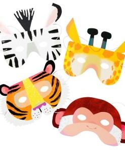 Masken_Tiermasken_Set