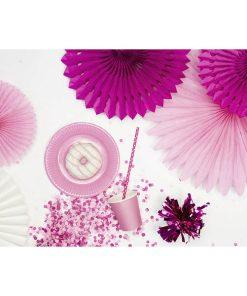 Partyfächer, light pink, 20cm,30cm,40cm, 1Pckng 3 Stck, Dekobeispiel