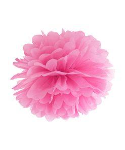 Pompom, Seidenpapier, pink, 25cm