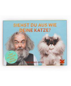 Siehst du aus wie deine Katze, Memo-Spiel, 50Karten mit Booklet, 144x100x47mm 01