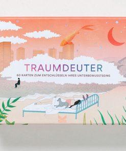 Traumdeuter, 60 Karten zum Entschlüsseln des Unterbewusstseins, 159x119mm Cover