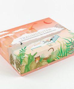 Traumdeuter, 60 Karten zum Entschlüsseln des Unterbewusstseins, 159x119mm Box
