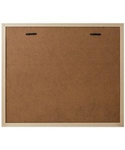 BILDERRAHMEN NEBRASKA 6 KLAMMER TEAKHOLZ Plastik 42,4x49,4x3,3cm Rückseite