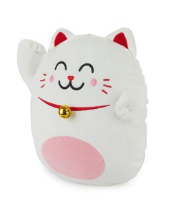 KISSEN MR.WONDERFUL LUCKY CAT 40x36cm Polyester
