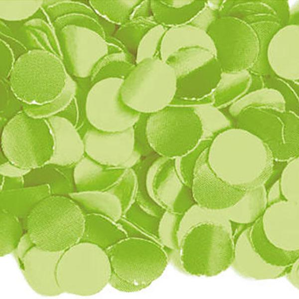 Konfetti, uni lime green, Papier 100gr