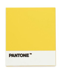 UNTERSETZER PANTONE GELB SILIKON 0,4x14,2x15,5cm