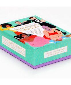 Feministinnen-Orakel, Lebenshilfe und Inspiration, 50Karten, 120x160x50mm Cover