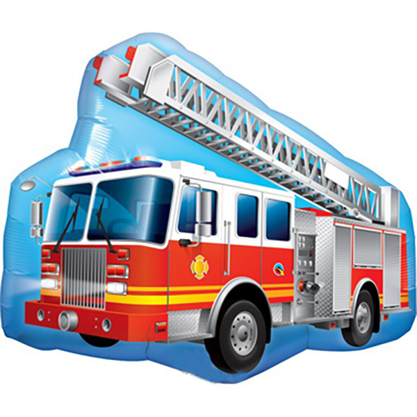 Feuerwehrauto_Folienballon_b91cm