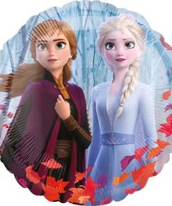 Frozen 2, ElsaAnna, Rückseite Olaf, Folienballon, 45cm, Seite 1
