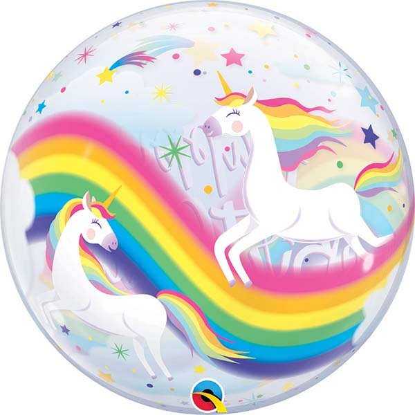 Happy Birthday, Rainbow, Bubble, 56cm, Rückseite