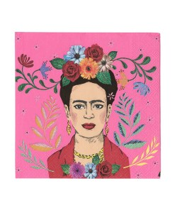 Servietten_Frida Kahlo