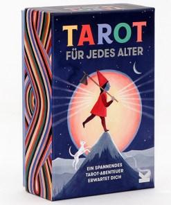 Tarot_fuer_jedes_Alter, 78 Karten, Booklet, 108 x 160 x 55mm, Box von vorne