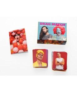 Drag Match, Finde den Vorher-Nachher-Look, Memo-Spiel, 40 Karten, 144x100x47mm, Box und Inhalt