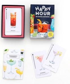 Happy Hour, Ein Cocktail-Spiel, Box, 52 Karten, 100x140x50mm, Box und Karten 1