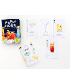 Happy Hour, Ein Cocktail-Spiel, Box, 52 Karten, 100x140x50mm, Box und Karten 2