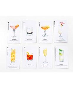 Happy Hour, Ein Cocktail-Spiel, Box, 52 Karten, 100x140x50mm, Kartenbeispiel 2