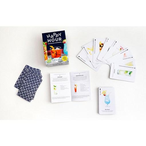 Happy Hour, Ein Cocktail-Spiel, Box, 52 Karten, 100x140x50mm, Uebersicht 1