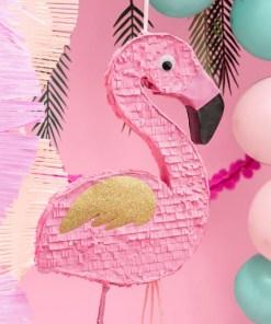 Pinata - Flamingo, 25x55x8cm, Dekobeispiel