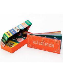DaDas Maerchen Memo, Box, 45 Karten und Booklet, 235 x 125 x 34 mm, Box offens Maerchen Memo, Box, 45 Karten und Booklet, 235 x 125 x 34 mm, Box offen