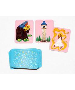Das Maerchen Memo, Box, 45 Karten und Booklet, 235 x 125 x 34 mm, Kartenbeispiel 2