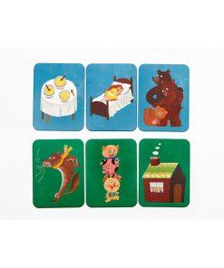 Das Maerchen Memo, Box, 45 Karten und Booklet, 235 x 125 x 34 mm, Kartenbeispiel 3