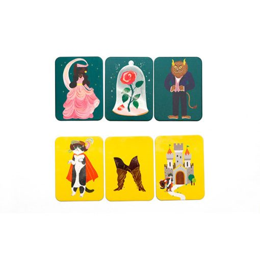 Das Maerchen Memo, Box, 45 Karten und Booklet, 235 x 125 x 34 mm, Kartenbeispiel 4