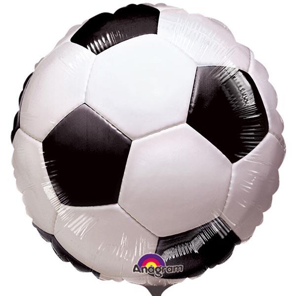 Fußball, Folienballon, Rundballon, D 45 cm