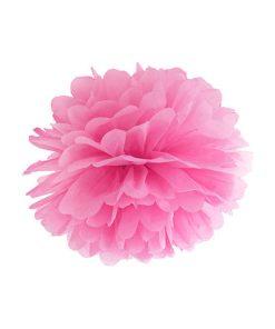 Pompom, pink, 35cm