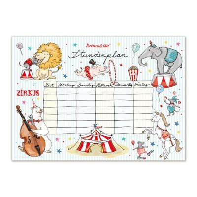 Stundenplan ''Zirkus'', DIN A3