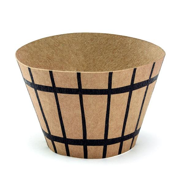 Cupcake-Kit ''PIRATES PARTY'', Muffinformen, Segel, Fahnenstecker, 6er Pack, Toppers circa 20cm h, Detail Foermchen