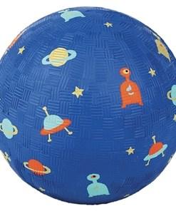 Kleiner Ball ''Galaxie'', blau, bunt, Naturkautschuk, D 13 cm