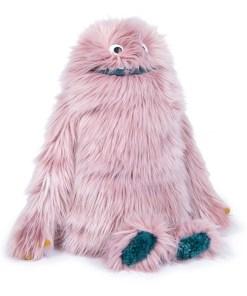 Plueschtier-Lila-Boubo-sehr-weicher-rosa-Wuschel-55-cm-Seitenansicht.jpg