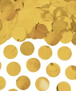 Folienkonfettikreise, gold, 15 g, 2,5cm