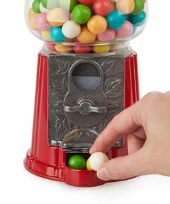 Kaugummiautomat American Dream, nostalgisch, rot, Metall, Glas, 23x11,5x12,5 cm, Beispielbild