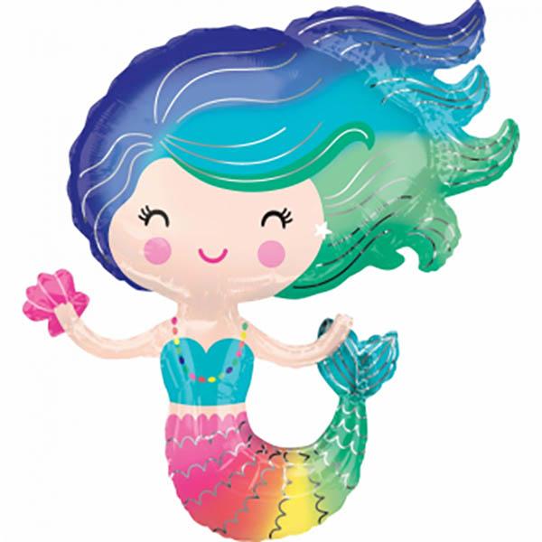 Süße Meerjungfrau 73x76cm