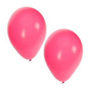 25x roze feest ballonnen