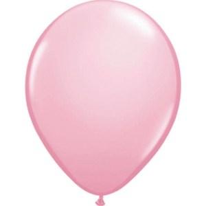Ballonnen metallic Roze 100 stuks