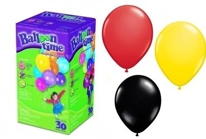Heliumpakket klein voor 20 belgische ballonnen