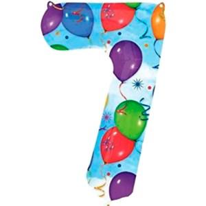Nummer 7 (balloons) -50%