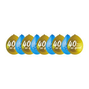 Ballonnen 40 never looked so good - set van 9