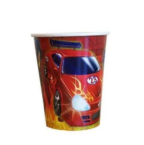 Ποτήρια πάρτυ Αυτοκίνητα ράλλυ (8 τεμ)