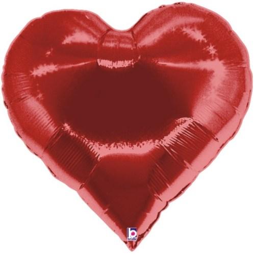 Μπαλόνι καρδιά τράπουλας 76 εκ