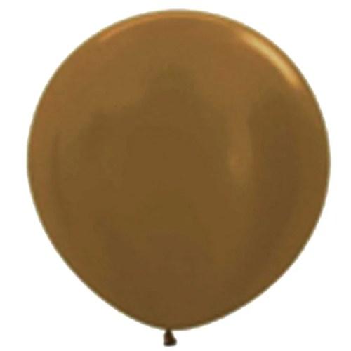 90cm - 36'' Σοκολατί μεγάλο μπαλόνι