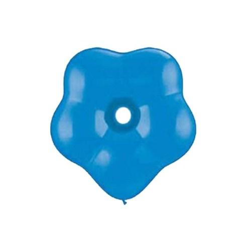 """6"""" Μπαλόνι λουλούδι sapphire μπλε"""