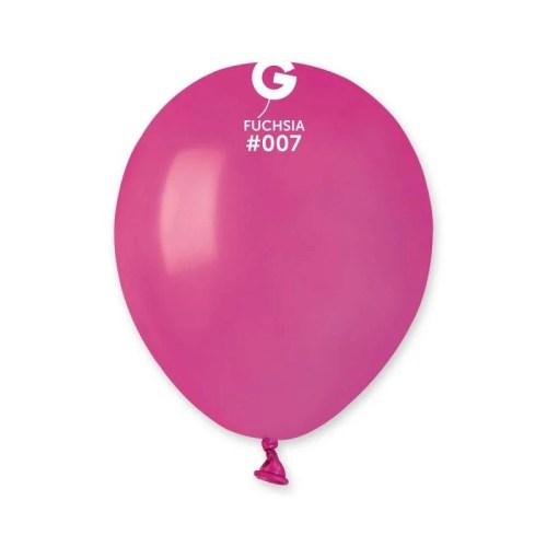 """5"""" Φούξια λάτεξ μπαλόνι"""