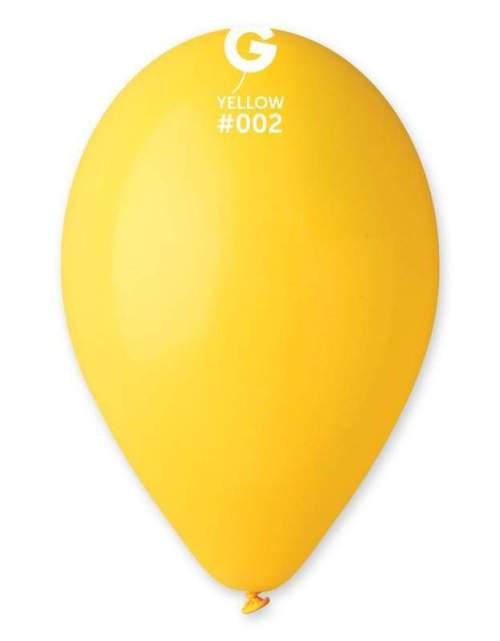 12'' Κίτρινο λάτεξ μπαλόνι