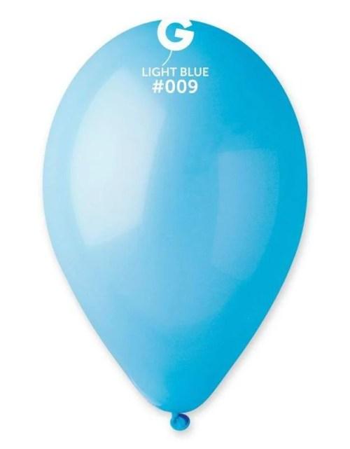 """12"""" Γαλάζιο λάτεξ μπαλόνι"""