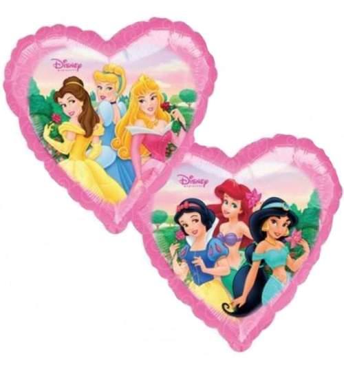 Μπαλόνι Καρδιά Πριγκίπισσες Disney 2 πλευρές