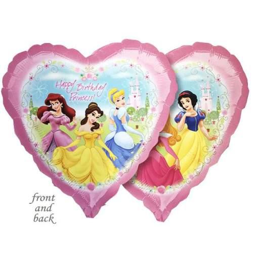 Μπαλόνι Καρδιά Happy Birthday Princess 45 εκ