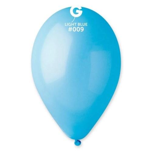 9'' Γαλάζιο λάτεξ μπαλόνι
